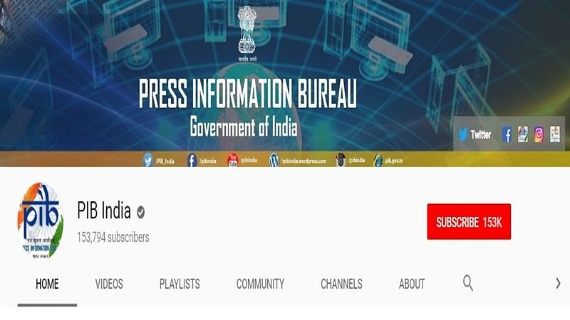 PIB's YouTube channel up and running, but misses PM Narendra Modi's Yoga Day event