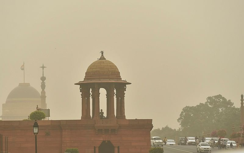 Delhi's air quality may deteriorate due to western dust storms: SAFAR