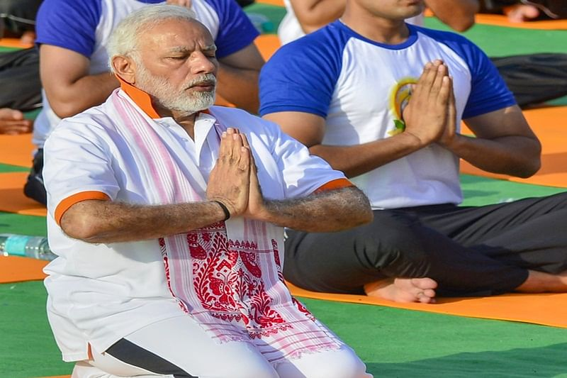 Yoga has no religion, hope it can become a binding force for world, says Narendra Modi