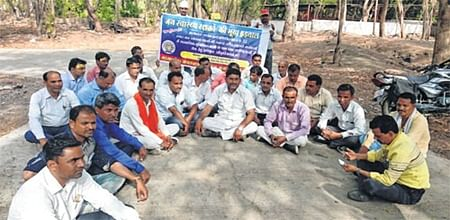 Ujjain: Public health workers launch serial hunger strike
