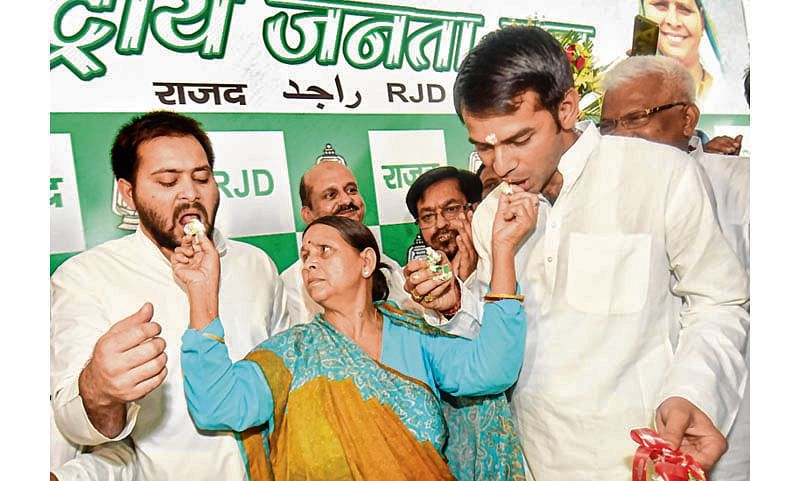 No rift in party or family, 'all is well', say Rabri and sons