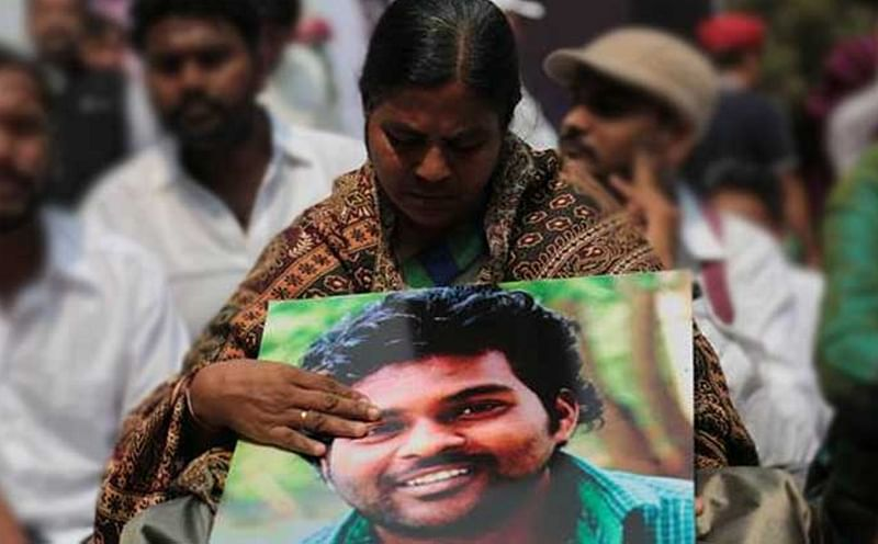 IUML promised to provide me money, but haven't used me for political gains:  Rohit Vemula's mother