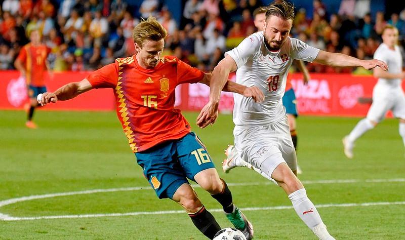 FIFA World Cup 2018: Spain, Switzerland draw 1-1 in warm-up match