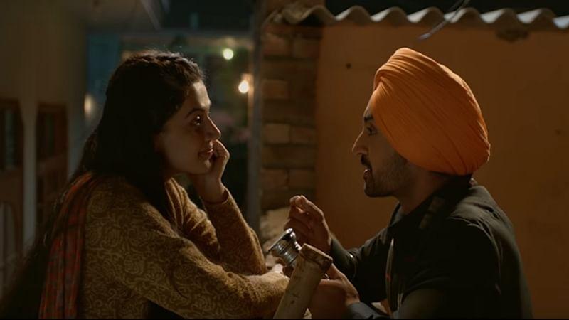 Soorma Ishq Di Baajiyaan song: Diljit Dosanjh, Taapsee Pannu bring the love story of Sandeep Singh on-screen