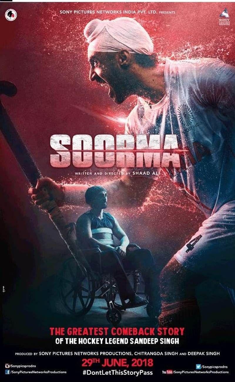 Soorma, Dhadak, Gold! 10 Bollywood films to look out for in second half of 2018