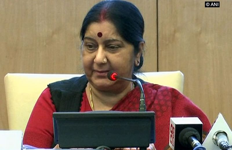 Lanka, Pulwama attacks made India more determined to resolutely fight terrorism: Swaraj tells SCO