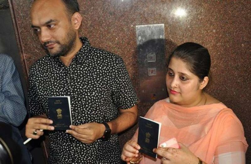 Passport row: Fresh trouble for 'Lucknow' inter-faith couple over address in application form