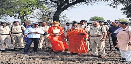 Ujjain: Temple land occupied by mafias demarcated