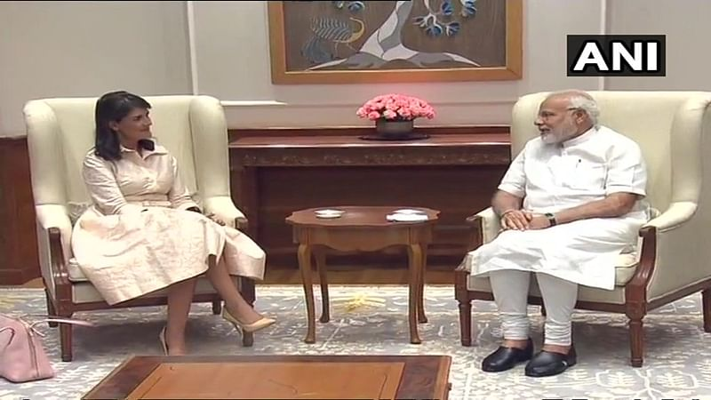 News Alerts! US Ambassador to the UN Nikki Haley meets Prime Minister Narendra Modi