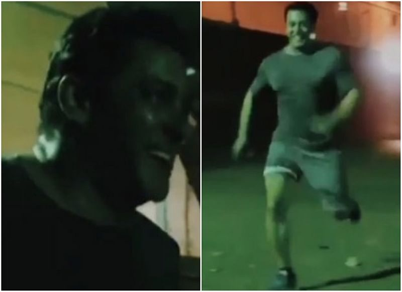 Viral! Sultan Salman Khan races a horse, guess who wins