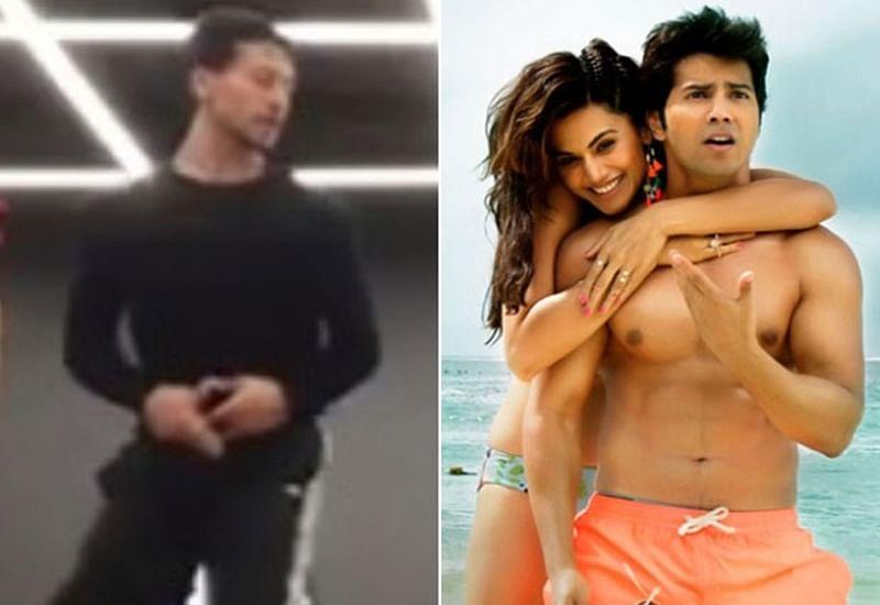 WATCH: Tiger Shroff's amazing dance moves on Varun Dhawan's 'Judwaa 2' song 'Aa Toh Sahi'