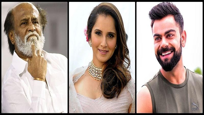 What's common to Virat Kohli, Sania Mirza and Rajnikanth? Read story to find out