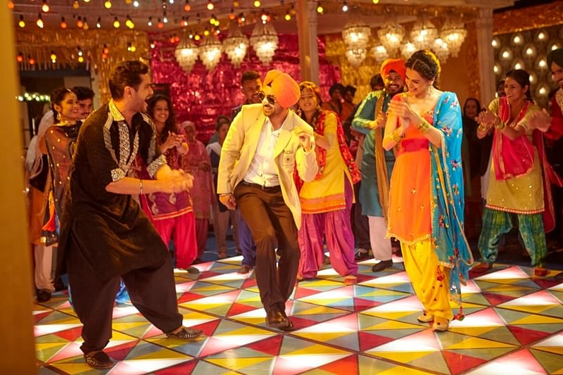 Watch fun and celebration come alive with Good Man Di Laaltain from Soorma