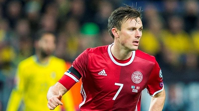 FIFA World Cup 2018: Danish midfielder William Kvist out of tournament with rib injury
