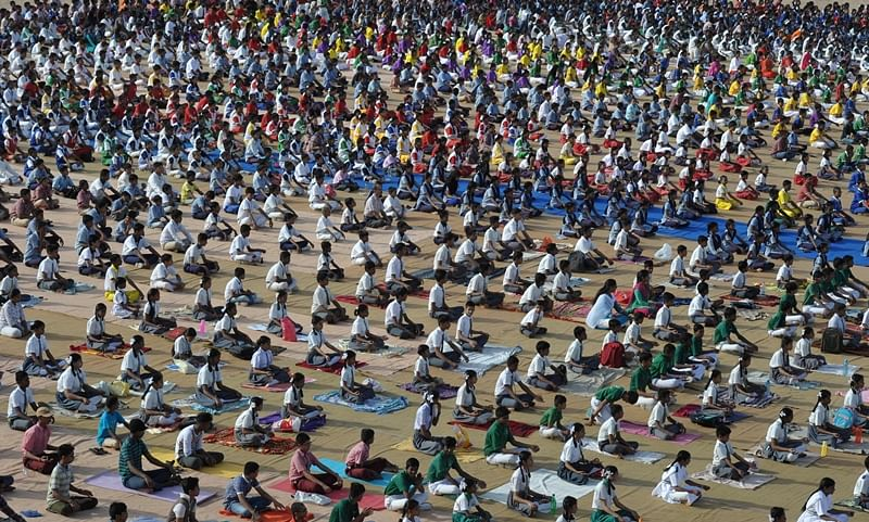 International Yoga Day: Over 8,000 differently-abled, 4,000 pregnant women to participate in Yoga Day events in Gujarat
