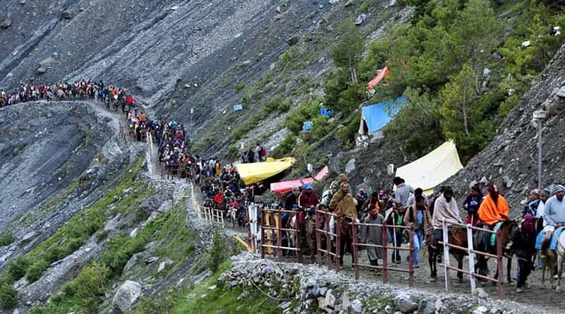 Identify and track, CRPF's policy for Amarnath pilgrims