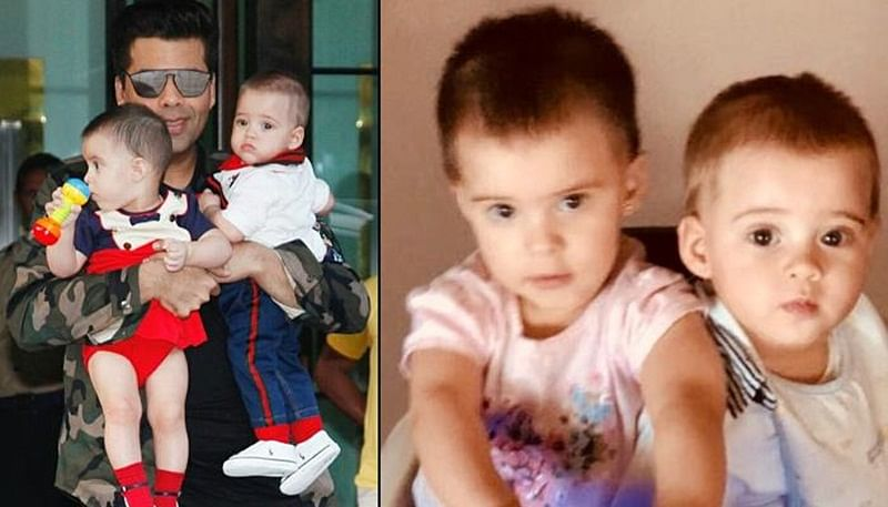 Watch Video: Yash, Roohi and Daddy Karan Johar have a screaming competition; find out who won