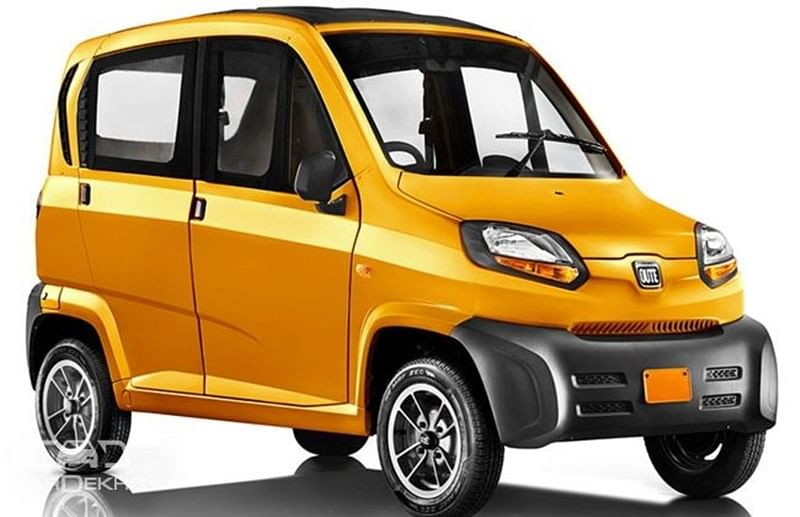 Bajaj's quadricycle Qute launched in Rajasthan