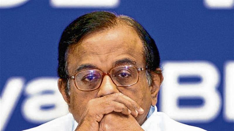 Former Finance Minister P. Chidambaram.