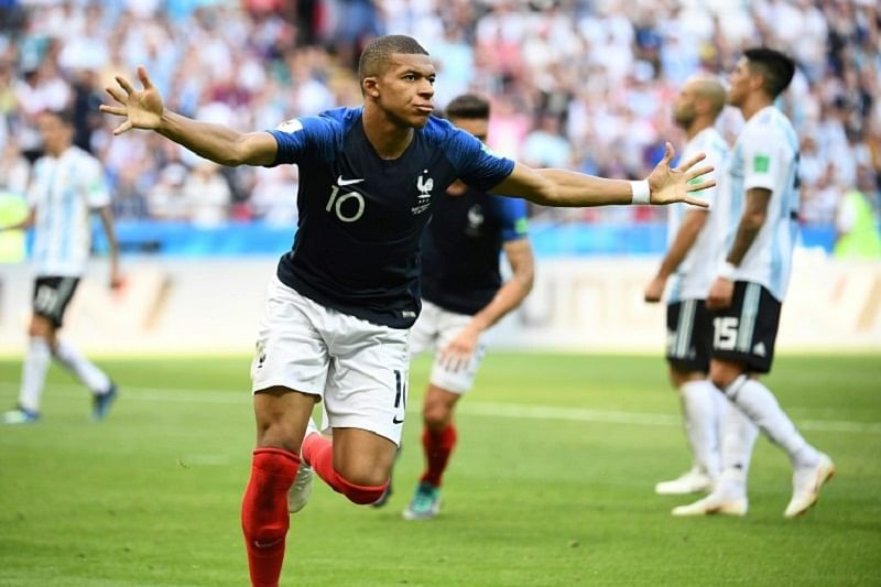 FIFA World Cup 2018: Kylian Mbappe's goals help France to beat Lionel Messi's Argentina by 4-3