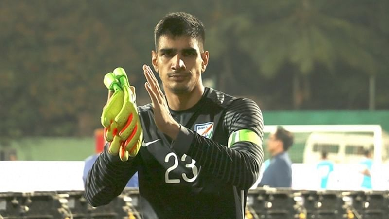 ISL experience helped me improve: India goalkeeper Gurpreet Singh Sandhu