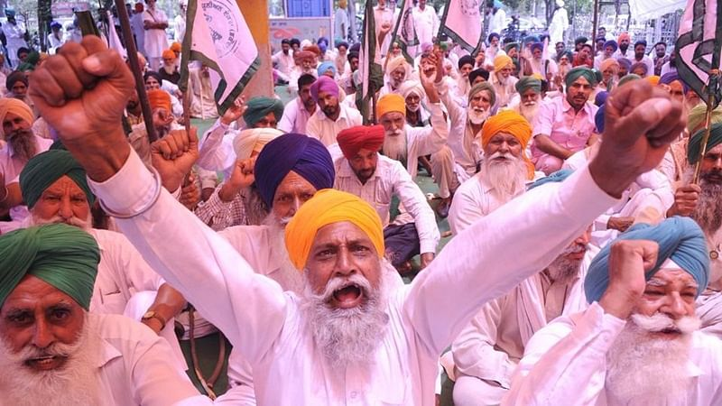 Farmers protest: Farmers today stopped the supply of vegetables, fruits, milk