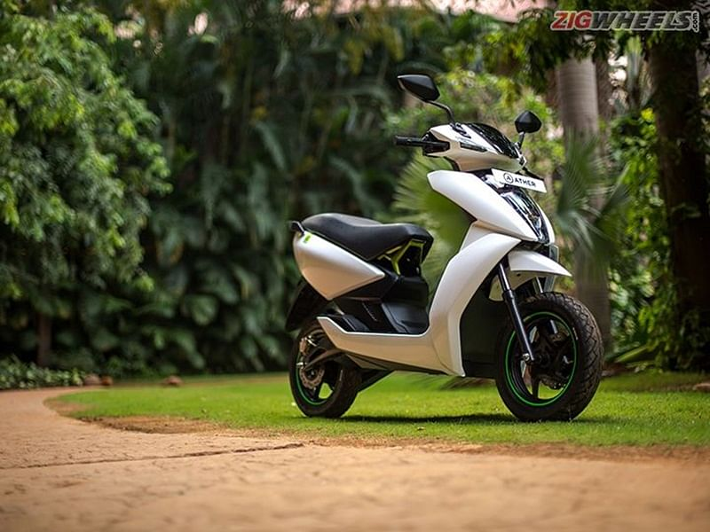 Ather 340 and 450 Electric Scooter launched; price starts from 1 lakh