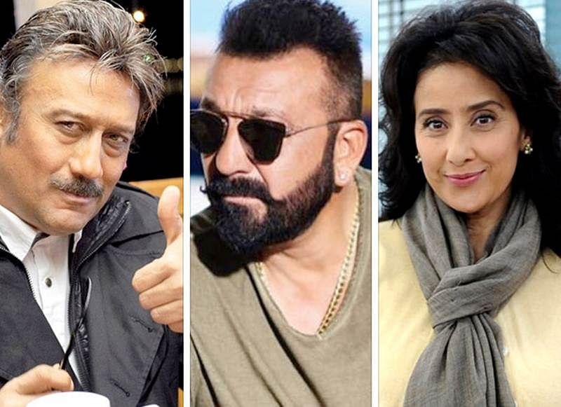 Jackie Shroff joins Kartoos co-stars Sanjay Dutt and Manisha Koirala for Prasthaanam