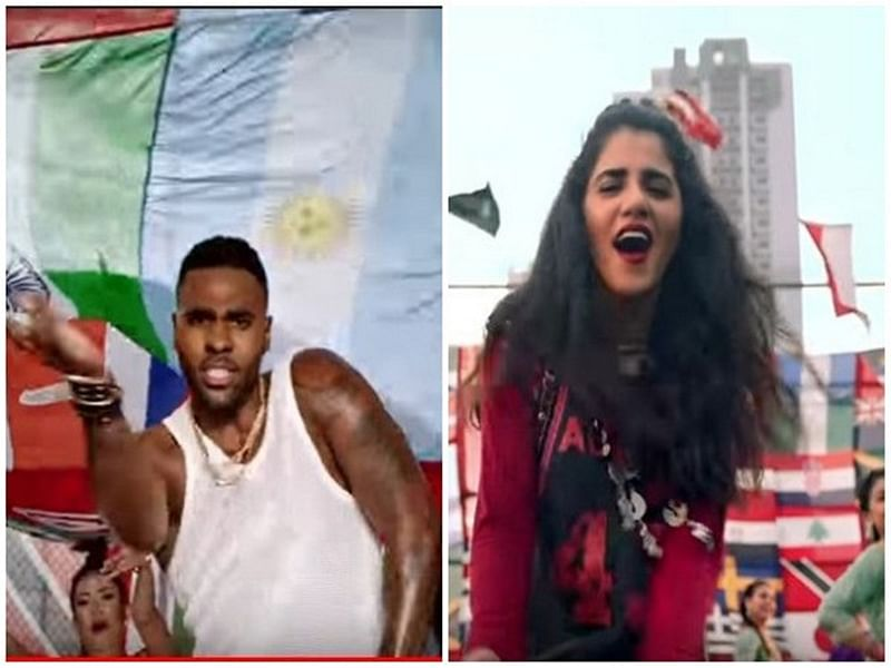 FIFA World Cup: Pakistani singer Qurat-ul-Ain Balouch teams up with Jason Derulo for World Cup anthem