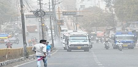 Bhopal: Light showers bring respite from hot humid climate