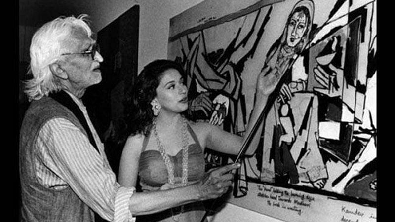 MF Husain death anniversary: Meet the 5 muses of the artist