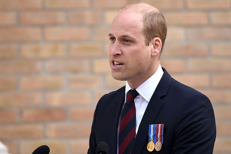Prince William goes undercover with UK spies