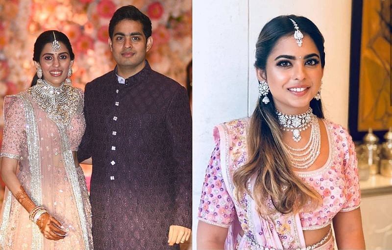 Why did Akash Ambani's bride-to-be Shloka Mehta touch sister-in-law Isha's feet?