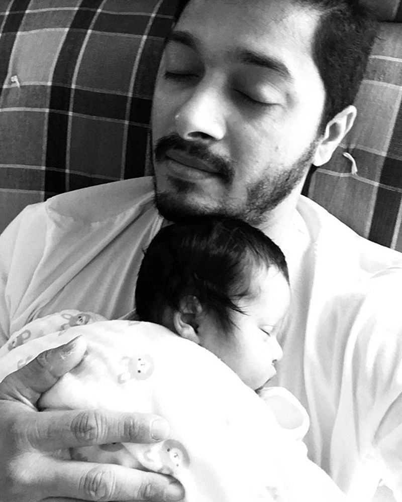 Shreyas Talpade reveals heartwarming first picture of his little angel; See Pic