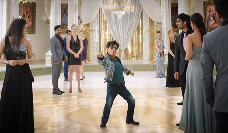 Watch Video of Shah Rukh Khan's dwarf avatar for Affoo Khuda in this behind-the-scenes clip from Zero