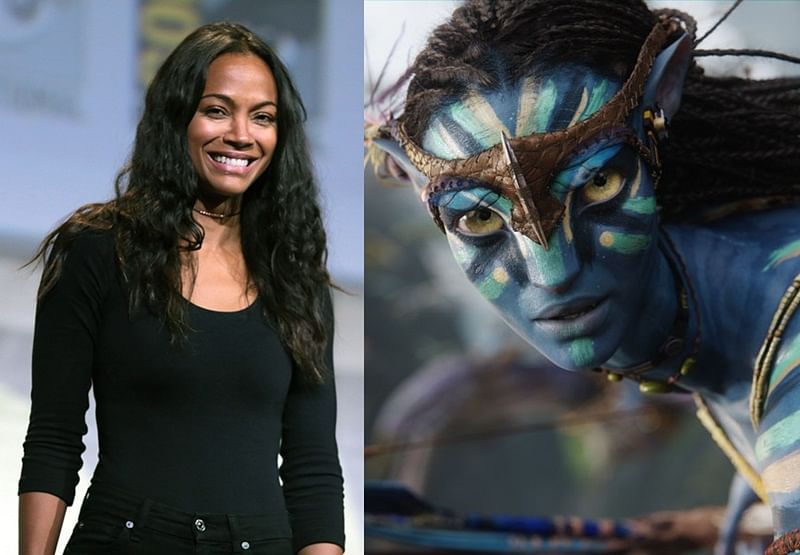 Zoe Saldana already finished with James Cameron's 'Avatar' 2 and 3 filming