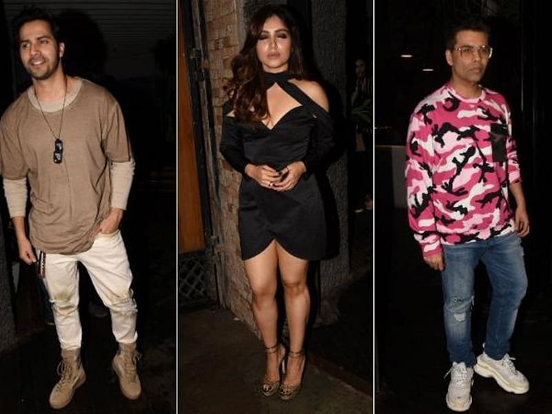 See Pics! Bhumi Pednekar's birthday eve celebrations — Karan Johar to Varun Dhawan, these celebs were in attendance