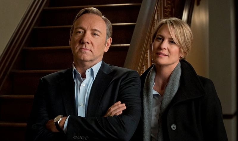 I didn't really know the man: Robin Wright on Kevin Spacey
