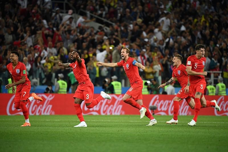 FIFA World Cup 2018: England beat Colombia in penalty shootout to reach World Cup quarter-finals