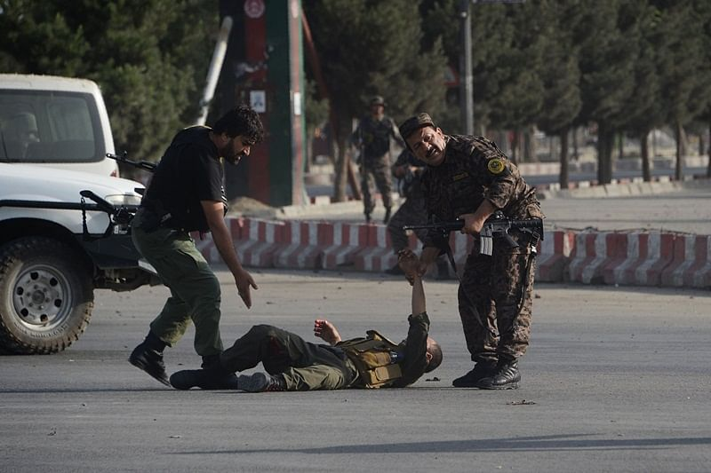 Suicide bombing in Kabul airport kills 14, Afghanistan Vice President unharmed
