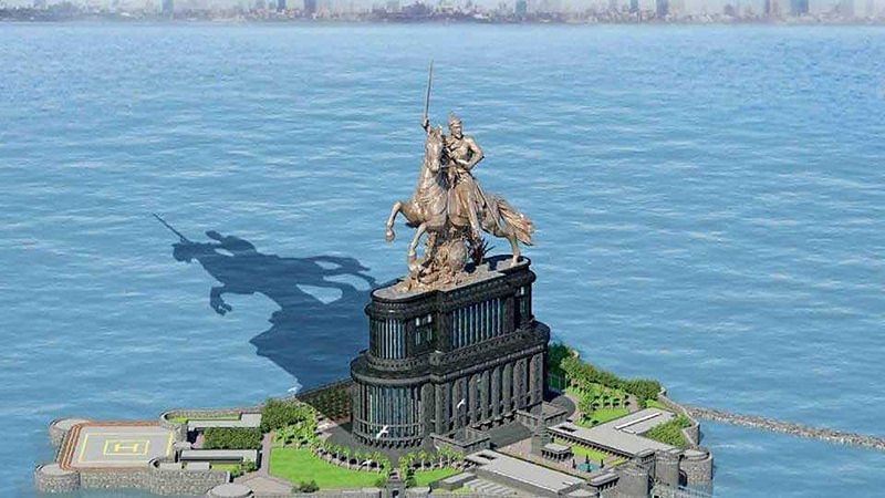 Shivaji memorial in Mumbai: Government now plans shorter statue, longer sword