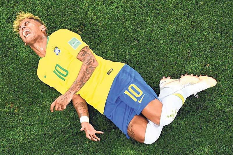 Neymar admits exaggerated reactions at World Cup