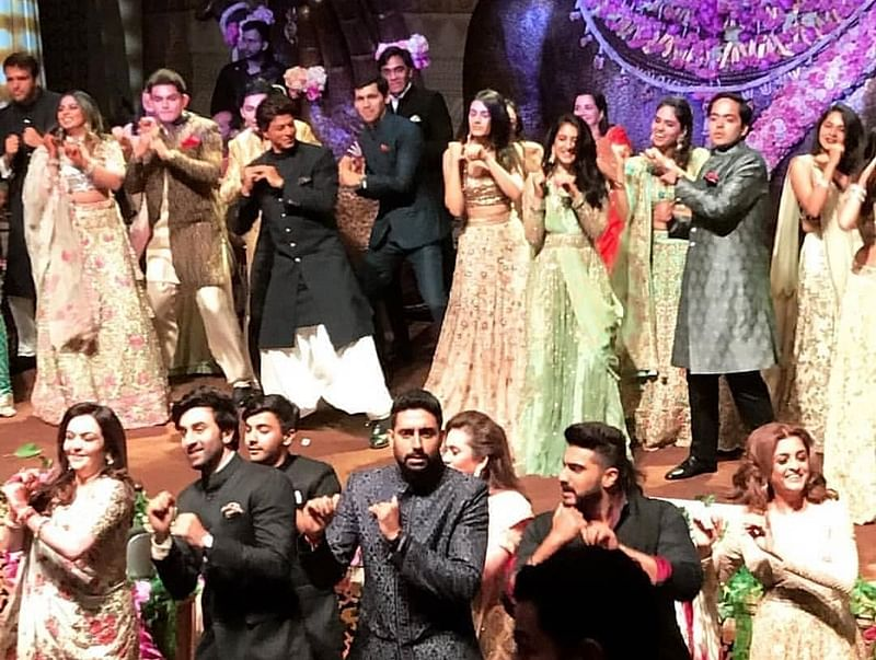 Bollywood Flash Mob at Akash Ambani-Shloka Mehta's engagement was the blockbuster moment; check it out