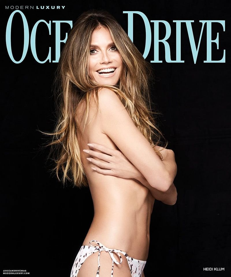 At 45, Heidi Klum poses topless for photoshoot, and aces it!