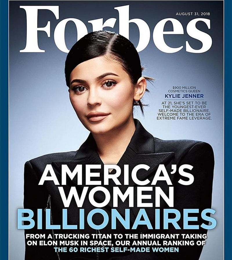 Internet enraged over 'youngest billionaire' Kylie Jenner beating Mark Zuckerberg