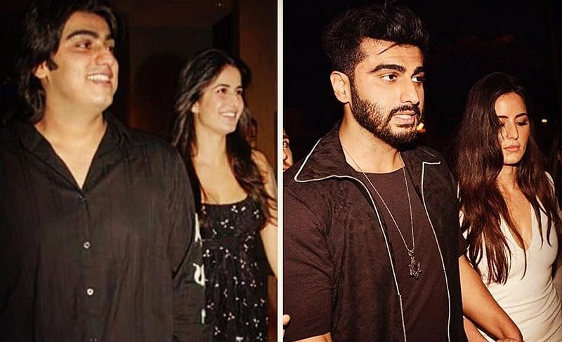 Arjun Kapoor's 'Then and Now' picture with Katrina Kaif defines their friendship; See pic