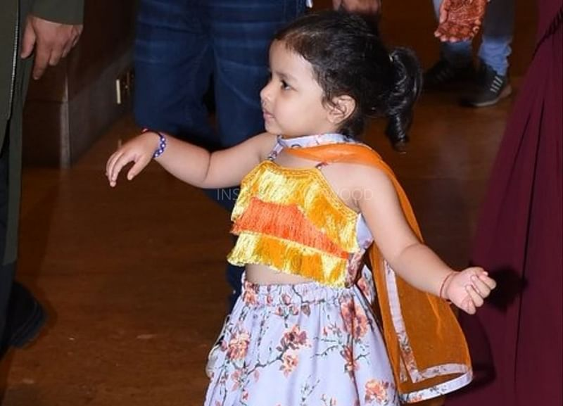 Cuteness Alert! Ziva Dhoni rocks the stage with her dance moves at Poorna Patel's 'Sangeet' [Watch]