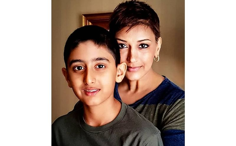 Sonali Bendre's son Ranveer thanks 'everyone' for support in emotional Instagram post