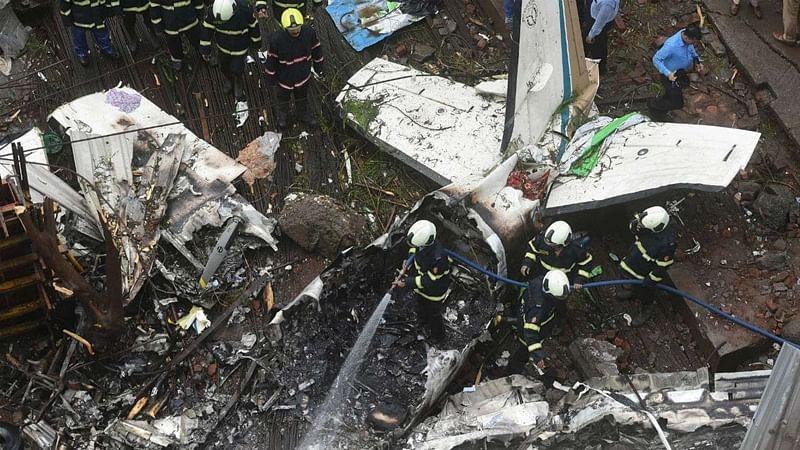 Mumbai plane crash: Prelim report in 'few' days says BJP lawmaker Kirit Somaiya