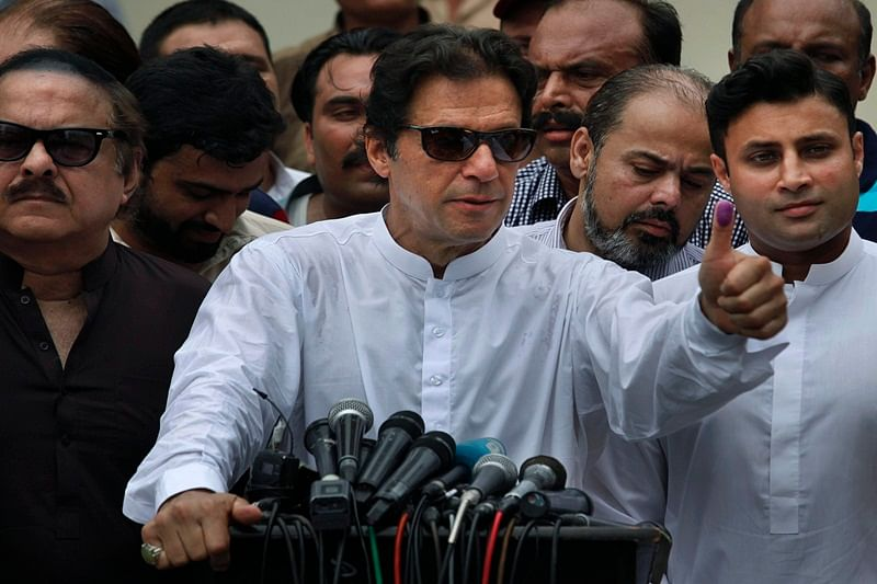 Pakistan elections 2018: Imran Khan's PTI leads in 119 seats, amid allegations of 'large scale' rigging